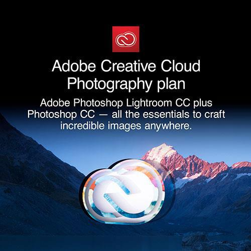Jessops Adobe Photoshop Creative Cloud Photography Plan Full Licence for 12 Months