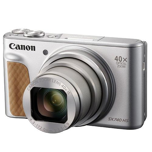 Canon PowerShot SX740 HS Camera in Silver