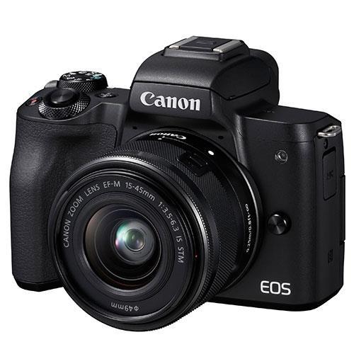 Canon EOS M50 Mirrorless Camera in Black