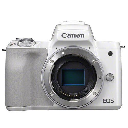 Canon EOS M50 Mirrorless Camera Body in White