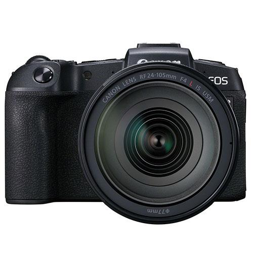 Canon EOS RP Mirrorless Camera with RF 24-105mm f/4 L IS USM Lens and Mount Adapter