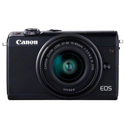 Canon EOS M100 Mirrorless Camera in Black Limited Edition with 15-45mm IS STM Lens