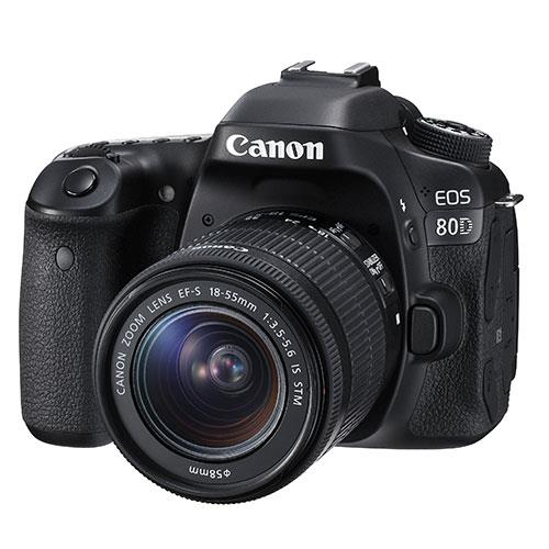 Canon EOS 80D Digital SLR with EF-S 18-55mm f/3.5-5.6 IS STM Lens
