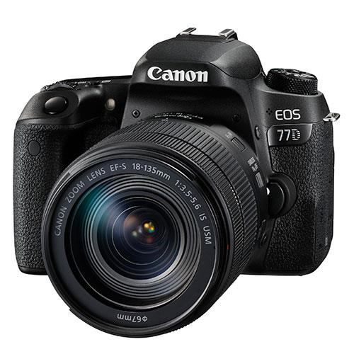 Canon EOS 77D Digital SLR with 18-135mm USM Lens