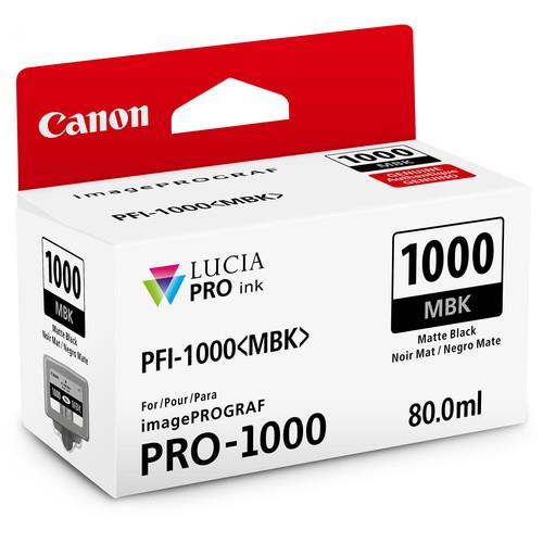 Canon PFI-1000MBK Matte Black Ink Cartridge