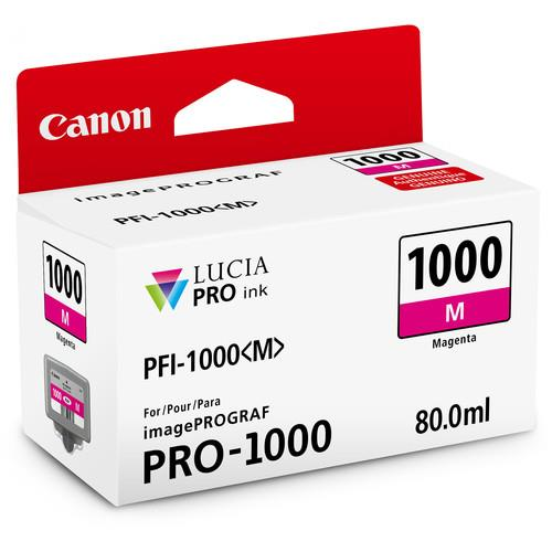 Canon PFI-1000M Magenta Ink Cartridge