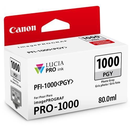 Canon PFI-1000PGY Photo Grey Ink Cartridge