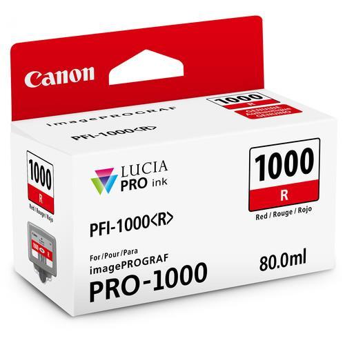 Canon PFI-1000R Red Ink Cartridge