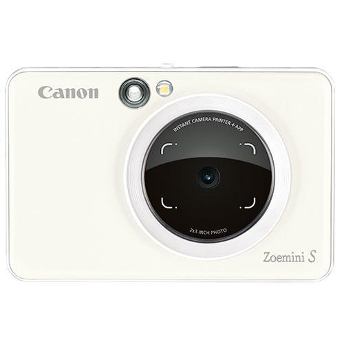 Canon Zoemini S Instant Camera in Pearl White