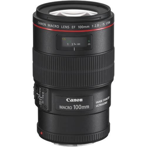 Canon EF 100mm f2.8L Macro IS USM Lens
