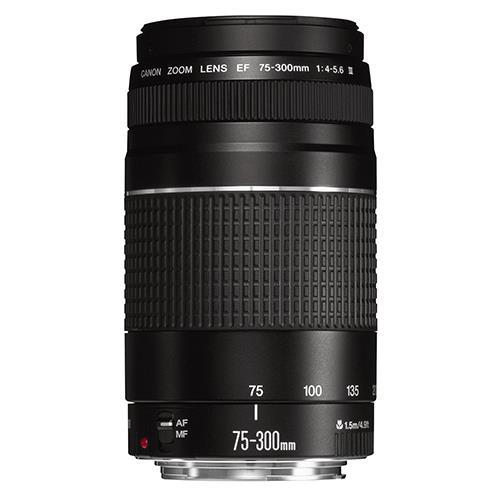 Canon EF 75-300mm f/4-5.6 III Lenses
