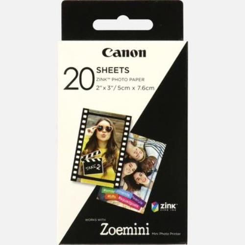 Canon ZoeMini Zink Photo Paper 20 Sheets