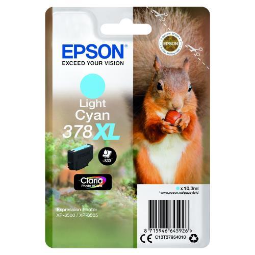 Epson Light Cyan 378XL Claria Photo HD Ink