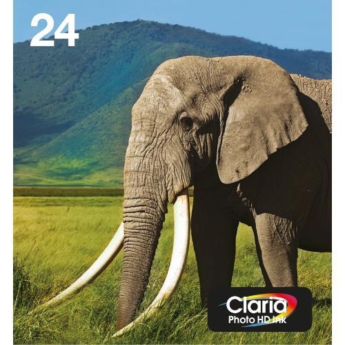 Epson Elephant Multi pack  6-colours 24 Photo HD Ink