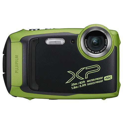 Fujifilm Finepix XP140 Digital Camera in Lime Green