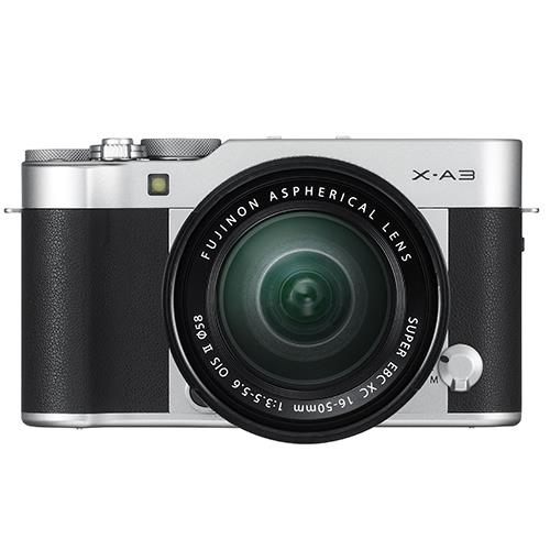 Fujifilm X-A3 Mirrorless Camera In Black with XC16-50mm Lens