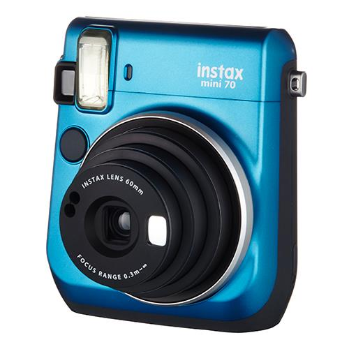 Instax mini 70 Instant Camera in Blue with 10 Shots