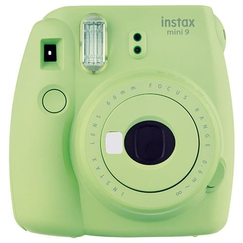 Instax mini 9 Instant Camera in Lime Green with 10 Shots