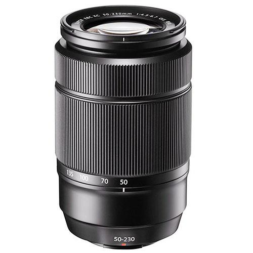 Fujifilm XC 50-230mm f/4.5-6.7 OIS II Lens in Black