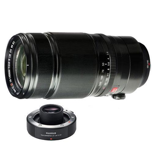 Fujifilm XF50-140mm f/2.8 R Lens with XF1.4x Teleconverter