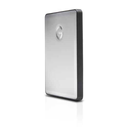 G-Technology G-DRIVE Mobile USB 1 TB External HDD Silver