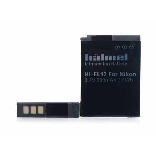 Hahnel HL-EL12 Li-ion Replacement Battery for Nikon EN-EL12