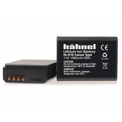 Hahnel HL-E10 Battery - Canon LP-E10 Fit