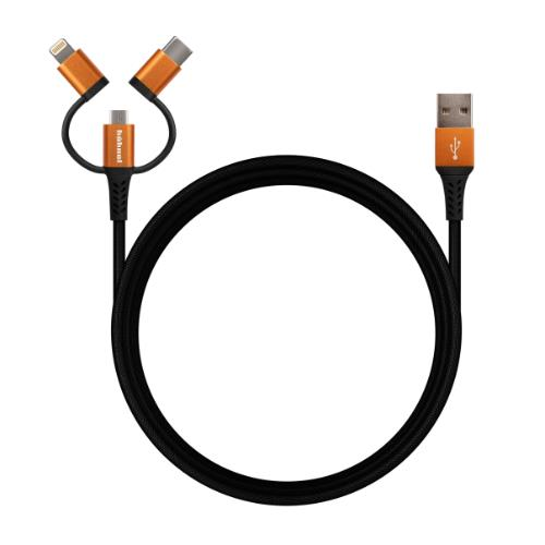 Hahnel Flexx 3-in-1 Sync/Charge Cable