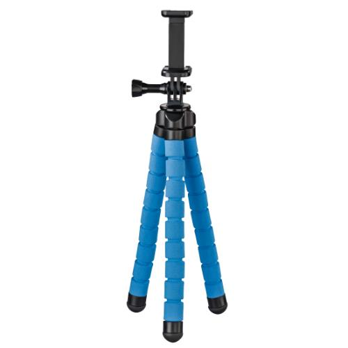 Hama Flex Tripod for Smartphone and GoPro 26cm Blue