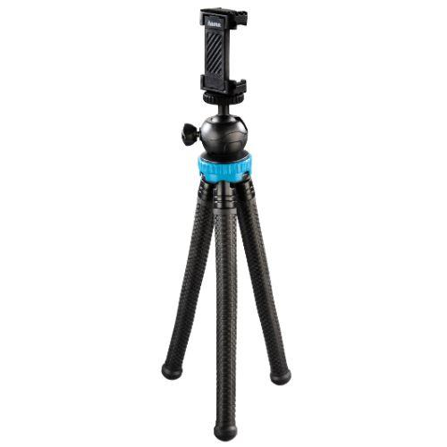 Hama FlexPro for Smartphone, GoPro and Cameras Blue Tripod 27cm