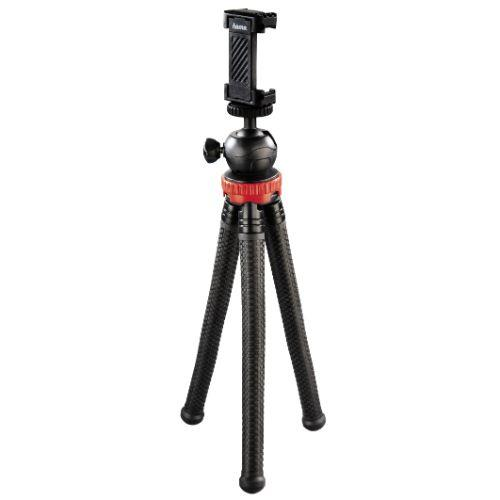 Hama FlexPro for Smartphone GoPro and Cameras Red Tripod 27cm