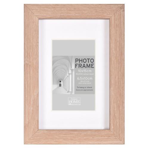 Innova MDF Block Frame Oak 10 x 8
