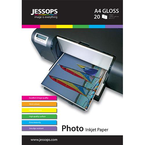 Jessops Inkjet A4 Gloss Photo Paper 240gsm - 20 Sheets