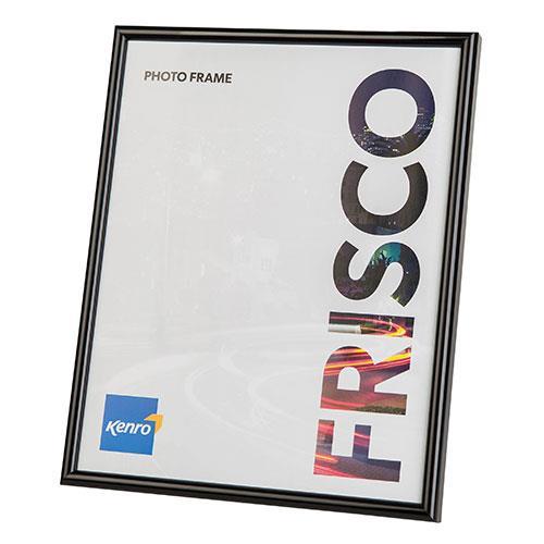 Kenro Frisco Photo Frame 8x6 (15x20cm) - Black
