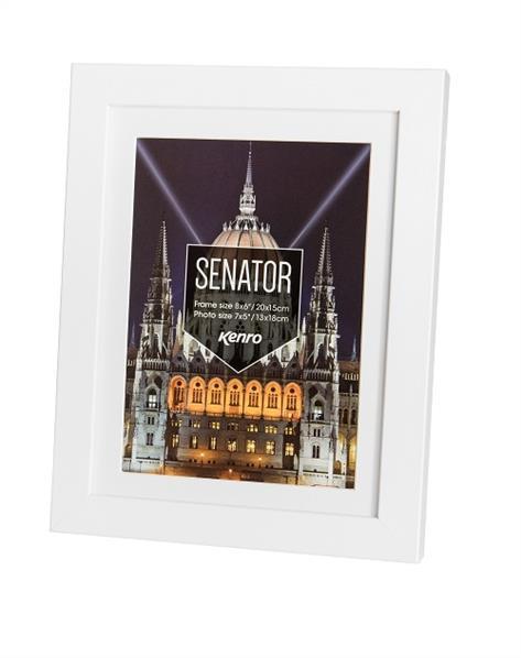 Kenro Senator Photo Frame 8x10 (20x25cm) White