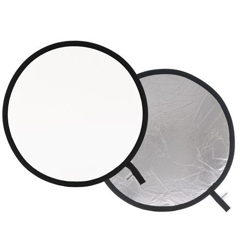 Lastolite Collapsible Reflector 50cm in Silver/White