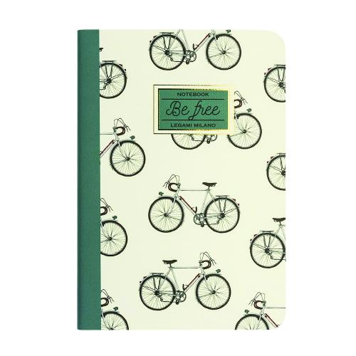 Legami Quaderno A6 Lined Bike Journal