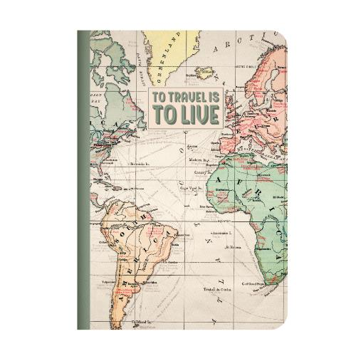 Legami Quaderno A5 Lined Travel Journal