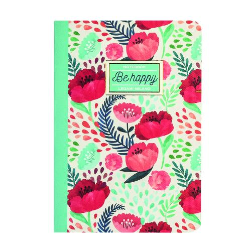Legami Quaderno A5 Lined Flower Journal