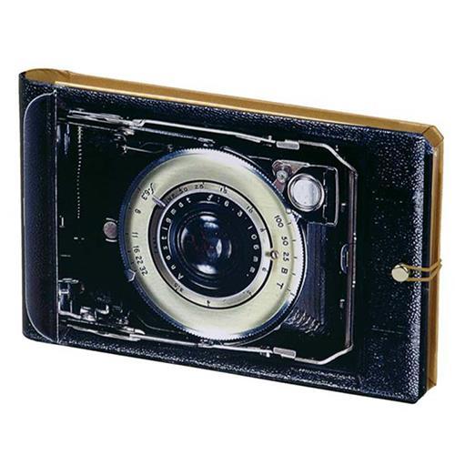 Knock Knock Vintage Camera Photo Album