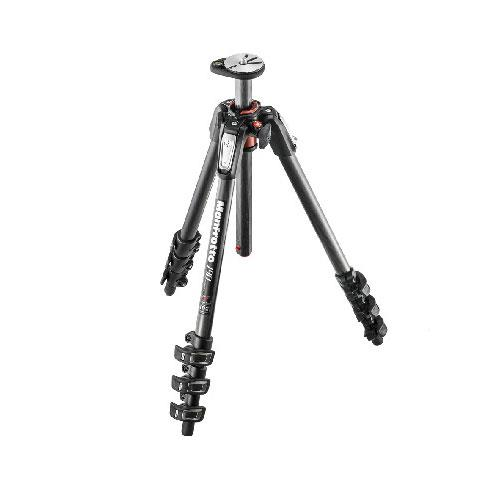 Manfrotto 190 Carbon Fibre 4-Section Tripod