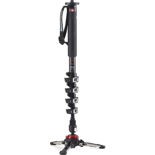 Manfrotto XPRO Carbon 5 section Fluid Video Monopod