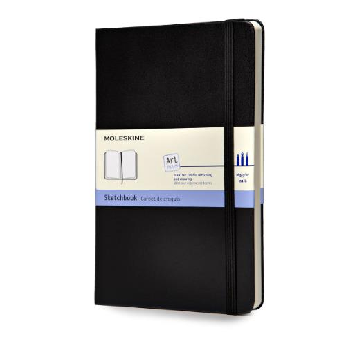 Moleskine Large Sketch Book Black