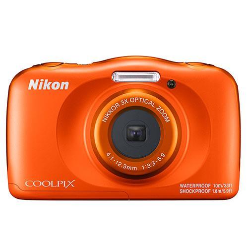 Nikon Coolpix W150 Camera in Orange