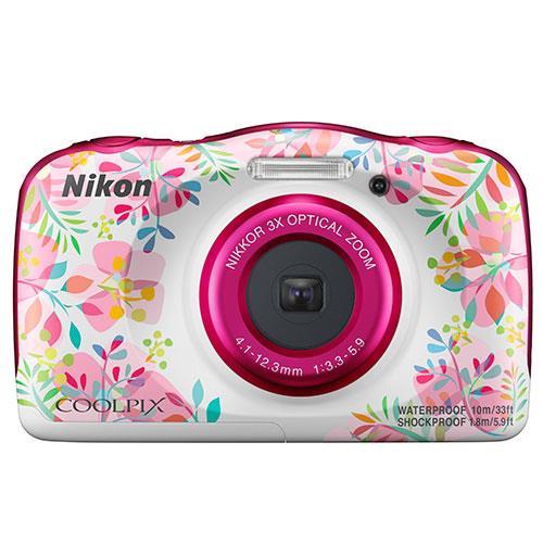 Nikon Coolpix W150 Camera in Flowers