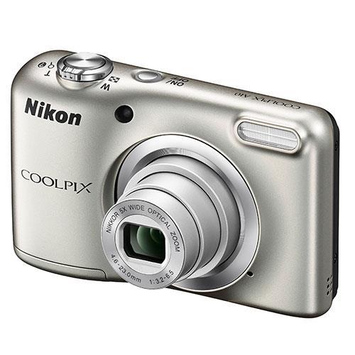 Nikon Coolpix A10 Digital Camera in Silver