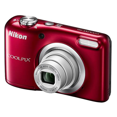 Nikon Coolpix A10 Digital Camera in Red