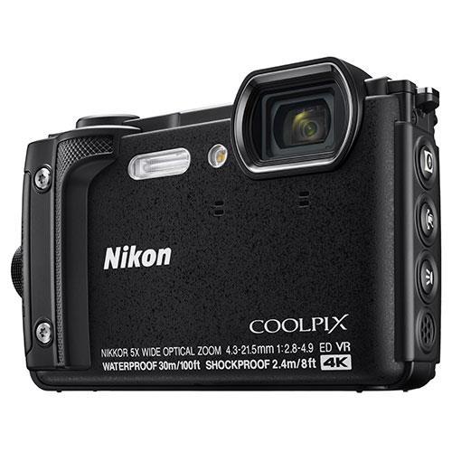 Nikon Coolpix W300 Camera in Black