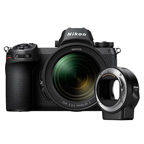 Nikon Z 6 Mirrorless Camera + 24-70mm f/4 S Lens and FTZ Mount Adapter
