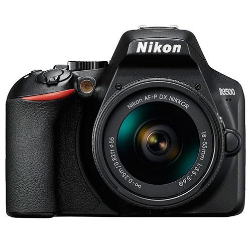 Nikon D3500 Digital SLR in Black - Non-VR Lens